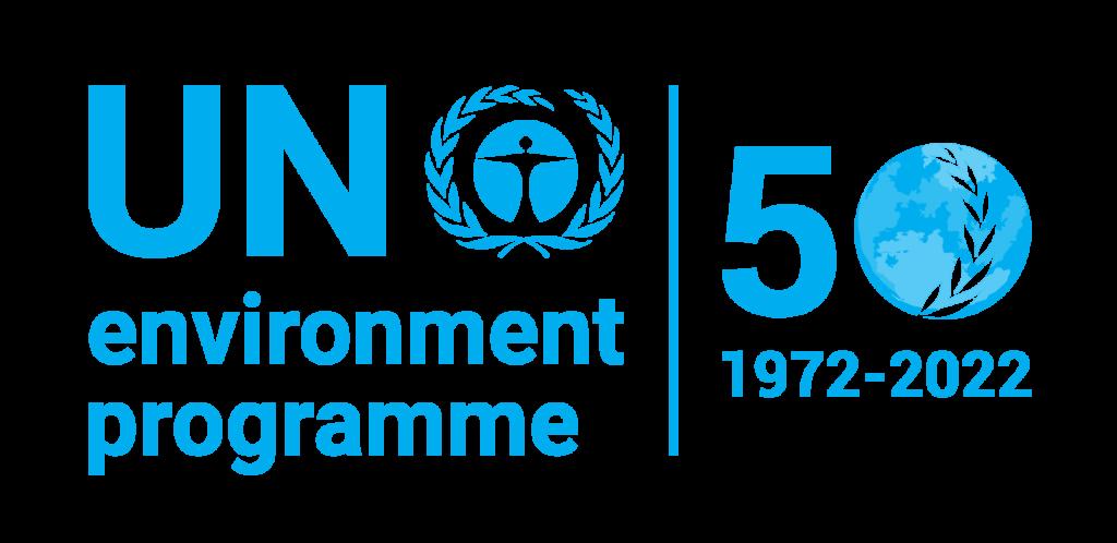 UNEP 50 year celebration Logo