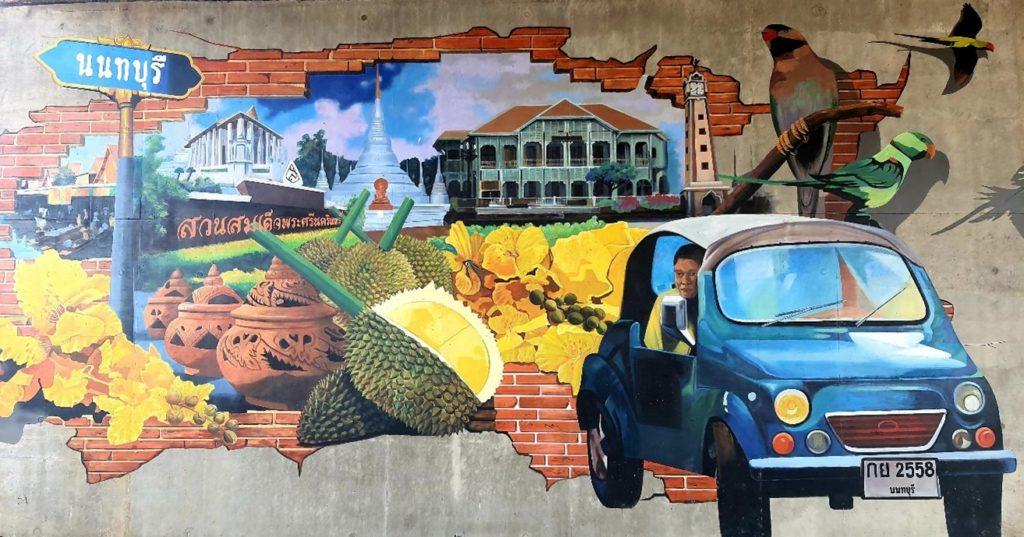 Nonthaburi street art